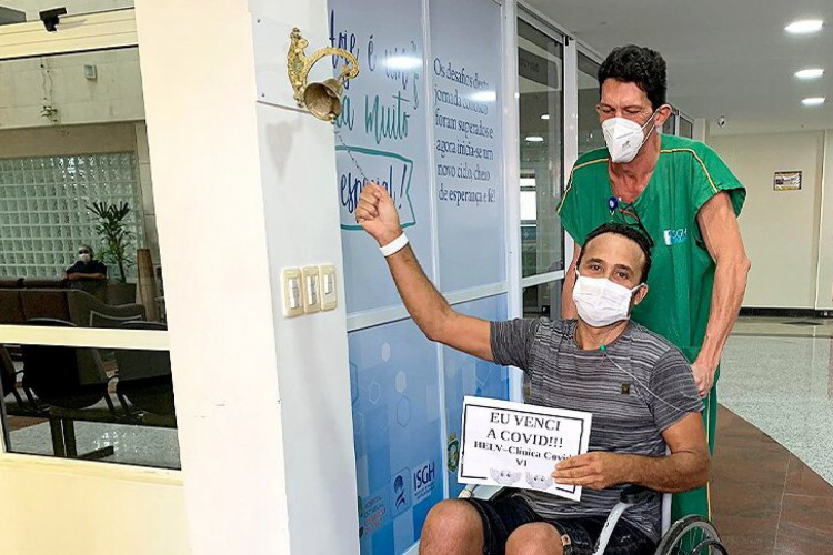 Cícero Ferreira é um dos mais de 4 mil curados  (Foto: Sesa/Reprodução)
