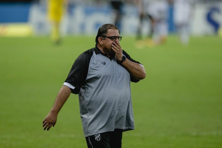 Guto acredita que faltou agressividade e assertividade para o Ceará (Foto: Aurelio Alves/O POVO)