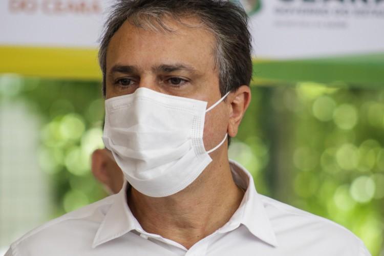 FORTALEZA, CE, BRASIL, 24.06.2021: Camilo Santana, governador do Ceará (Foto: Thais Mesquita)