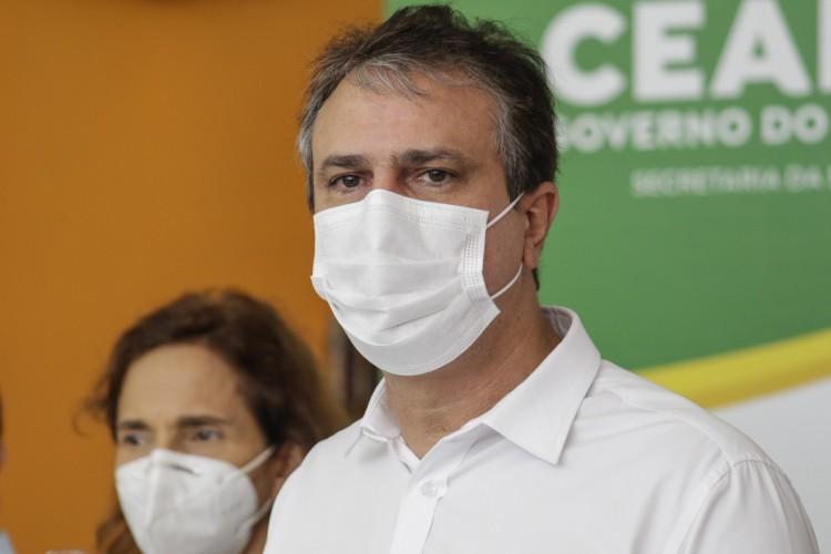 Governador Camilo Santana e a Vice Izolda Cela (Foto: Thais Mesquita)