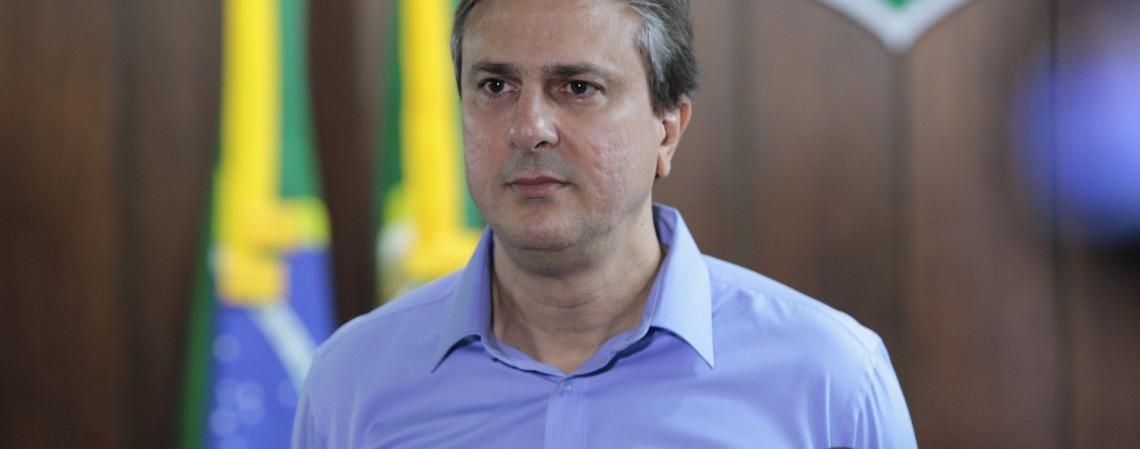 Governador Camilo Santana (Foto: FCO FONTENELE)
