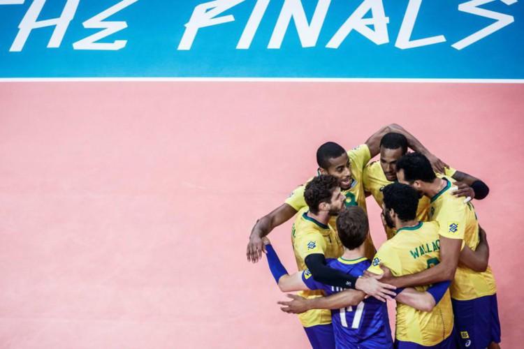 Brasil derrota França e está na decisão da Liga das Nações de vôlei (Foto: )