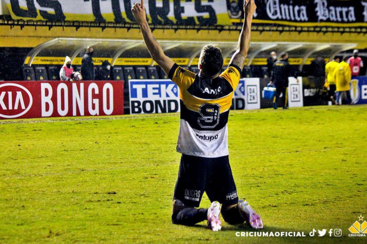 Criciúma assume a ponta do Grupo B da Série C (Foto: )