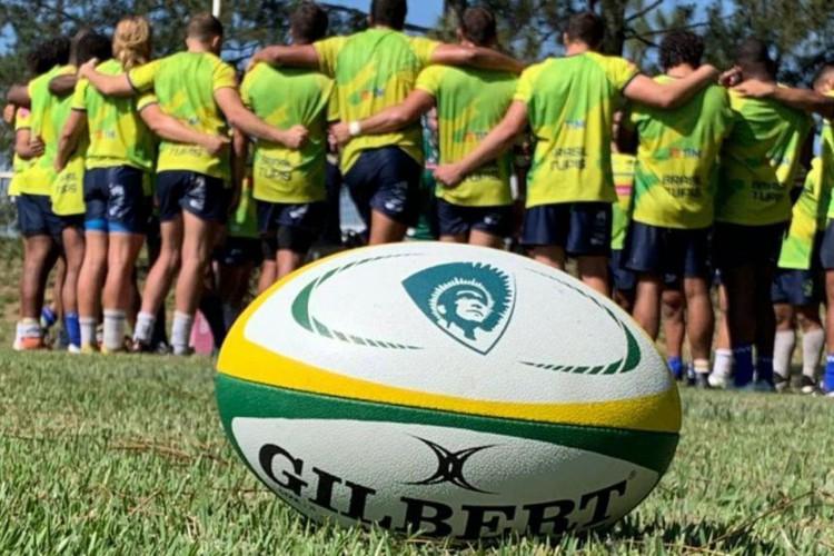 Rugby: Brasil vence primeira na busca por vaga na Copa do Mundo (Foto: )
