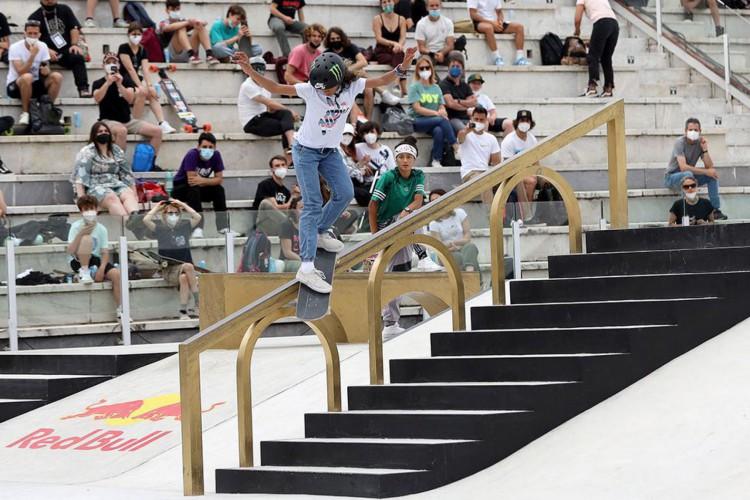 Olimpíada: com 13 anos, Rayssa Leal é a caçula da delegação brasileira (Foto: )