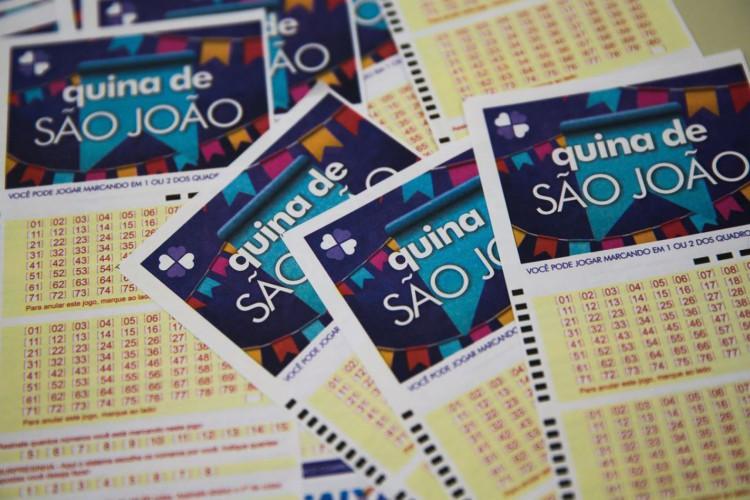 Loteria Quina de São João (Foto: Marcello Casal Jr/Agência Brasil)