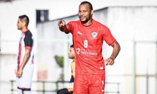 Olávio tem média de um gol por partida com a camisa do Atlético-CE