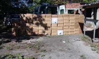 Carga com quase 600 caixas de cigarros importados é apreendida na Caucaia