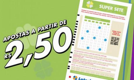 O resultado da Super Sete, Concurso 162 foi divulgado hoje, quarta-feira, 27 de outubro (27/10). Prêmio está estimado em R$ 400 mil; Saiba como apostar.
