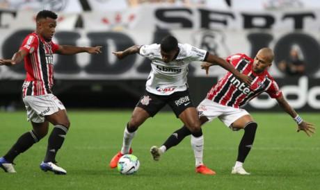Corinthians e São Paulo pelo Brasileirão 2021 é um dos destaques dos jogos de hoje, 18.