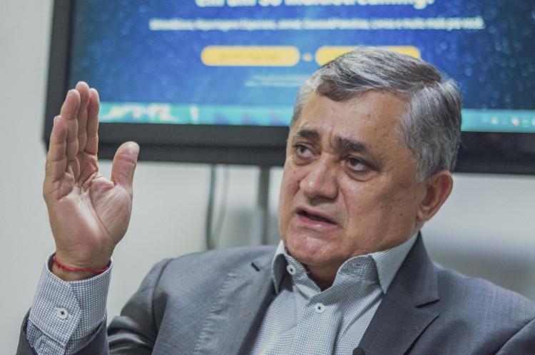 Deputado federal José Guimarães  (PT)(Foto: FCO FONTENELE)