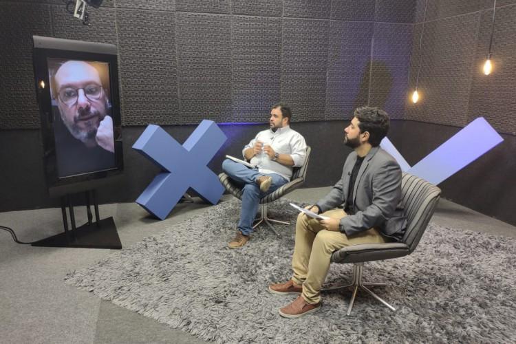 Prefeito de Sobral Ivo Gomes é o entrevista do Jogo Político  (Foto: O POVO )