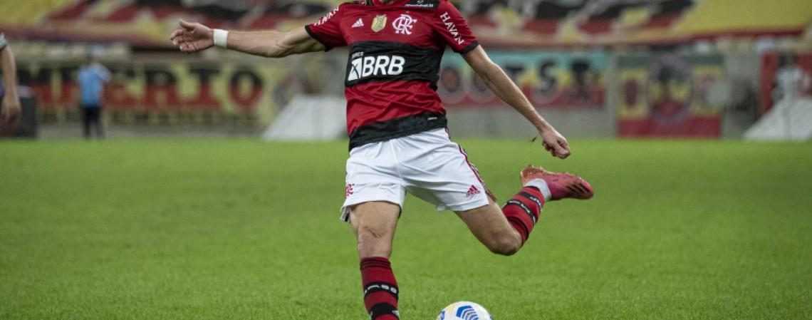 Entre os jogos de hoje, quarta, 21 de julho, Flamengo enfrenta o Defensa Y Justicia pela Copa Libertadores. (Foto: Alexandre Vidal / Flamengo)