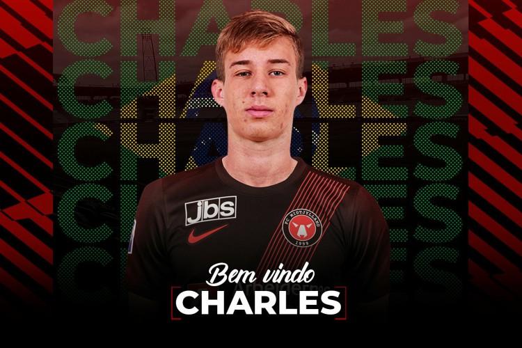 Ceará acerta a transferência de Charles ao Midtjylland (Foto: Divulgação/ FC Midtjylland)