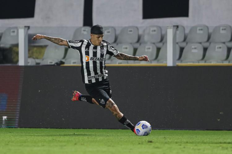 Atlético-MG de Guilherme Arana enfrenta hoje o Atlético-GO pelo Brasileirão 2021; veja onde assistir ao vivo à transmissão, provável escalão e qual horário do jogo (Foto: Pedro Souza / Atlético Mineiro)