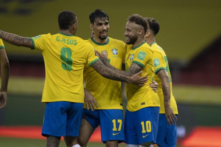 Entre os jogos de hoje, sexta-feira, 2 de julho (02/07) Brasil enfrenta Chile, pela Copa América (Foto: Lucas Figueiredo/CBF)