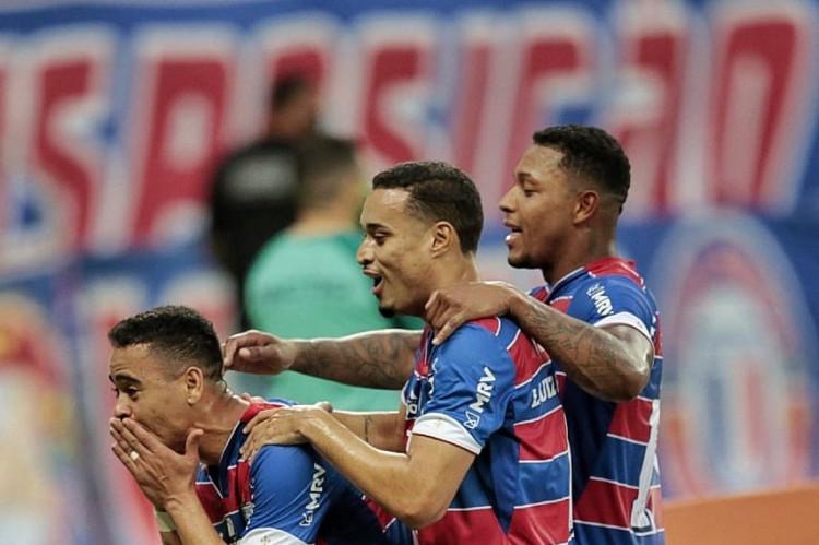 Histórico e desempenho em casa apontam o Fortaleza como favorito contra o América-MG (Foto: Aurélio Alves/O POVO)