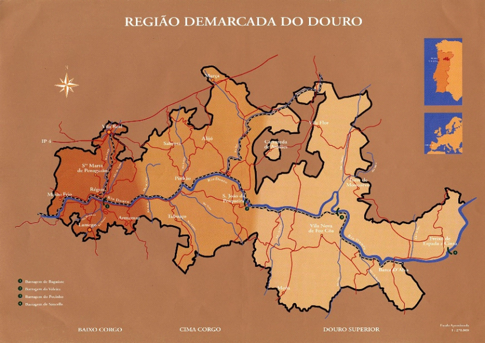 Região Demarcada do Douro (Foto: Divulgação)