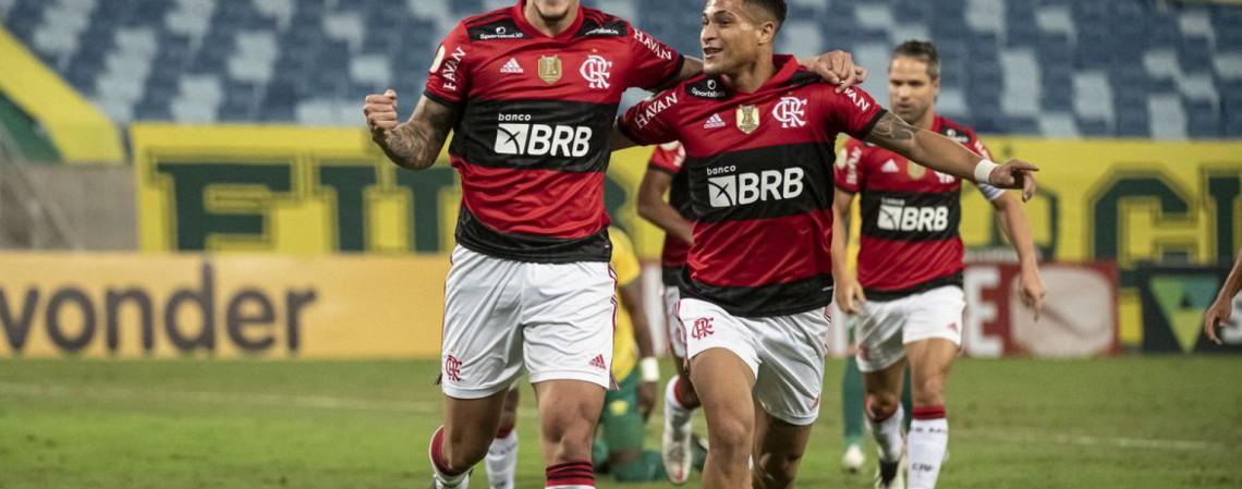 Onde assistir os jogos de hoje, domingo, 25 de julho. O Flamengo, de Pedro, enfrenta o São Paulo pelo Brasileirão.  (Foto: Divulgação/CR Flamengo)