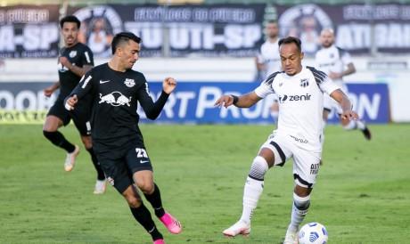 Bragantino segue líder do Brasileirão 2021 mesmo com empate contra Ceará; veja tabela de classificação atualizada após oitava rodada