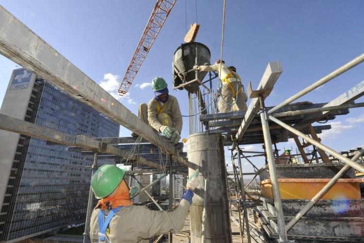 Indústrias, fábricas,Obras de construção, edifício sede do SENAI,construção civil (Foto: José Paulo Lacerda/CNI/Direitos reservados)