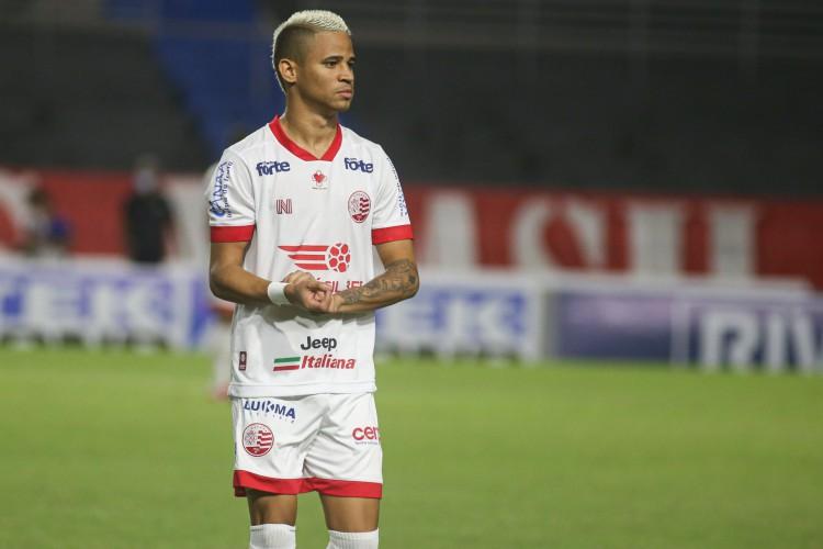 Atacante Erick é especulado no Ceará e já teria acordo verbal com o clube alvinegro (Foto: Tiago Caldas / CNC)
