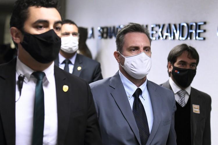 Comissão Parlamentar de Inquérito da Pandemia (CPIPANDEMIA) realiza oitiva do empresário representante da empresa Davati Medical Supply (Foto: Edilson Rodrigues/Agência Senado)