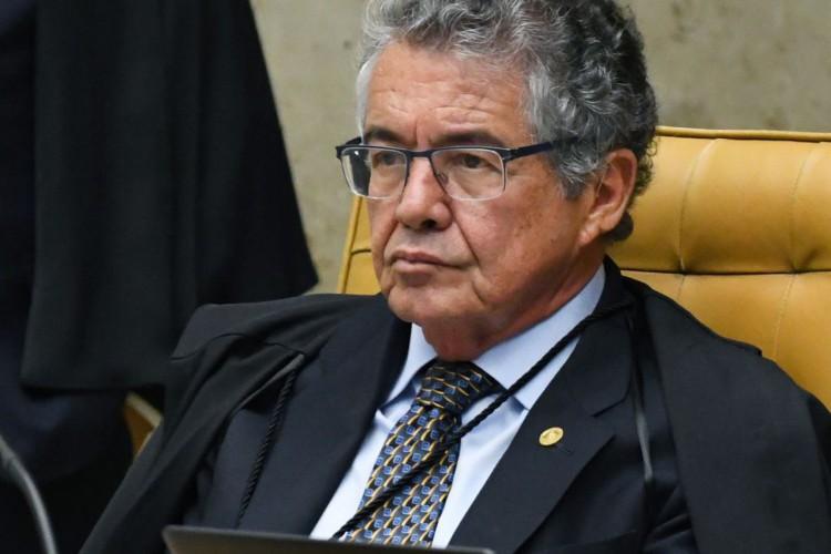 Marco Aurélio Mello participa de última sessão plenária como ministro  (Foto: CARLOS ALVES MOURA)