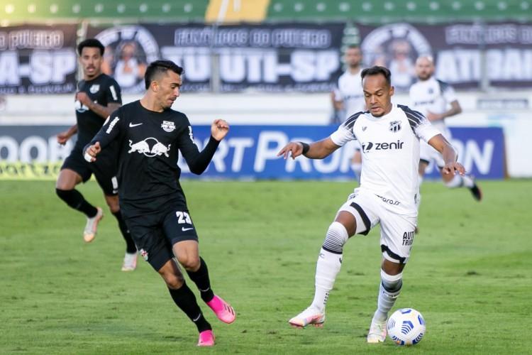 Bragantino segue líder do Brasileirão 2021 mesmo com empate contra Ceará; veja tabela de classificação atualizada após oitava rodada (Foto: Fausto Filho/ Ceara SC)