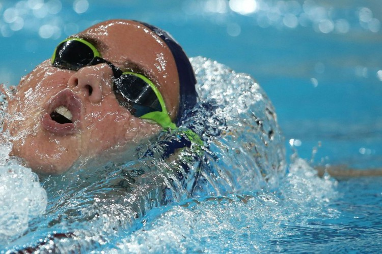 Olimpíadas: nadadora Viviane Jungblut supera covid-19 e vai aos Jogos (Foto: )