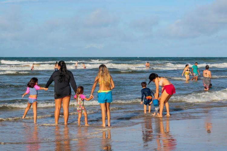 É nessa época, ainda, que acontecem as férias escolares e a alta estação turística (Foto: BARBARA MOIRA)