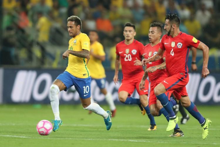 Brasil encara Chile hoje pela Copa América; veja onde assistir ao vivo à transmissão e qual horário do jogo (Foto: Lucas Figueiredo/CBF)