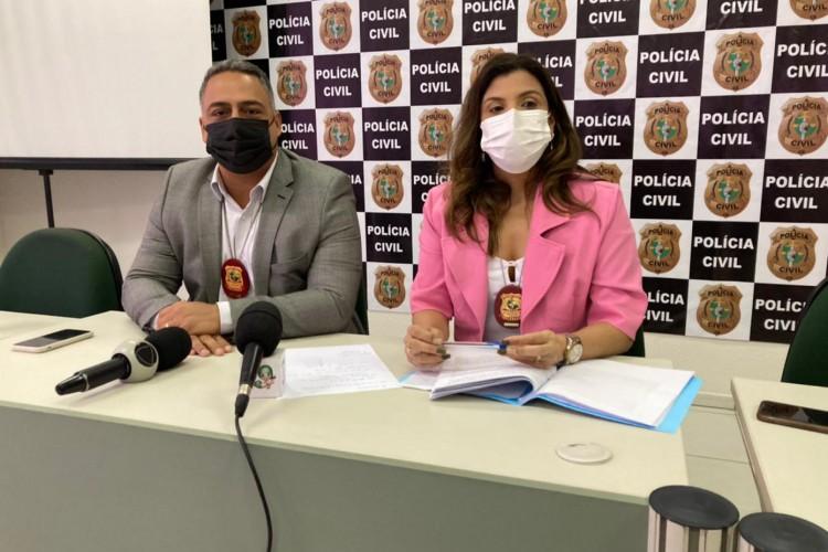Mais informações foram repassadas em coletiva (Foto: Angélica Feitosa/O POVO)
