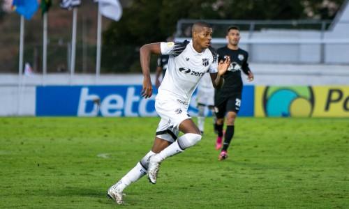 Atacante Cléber deve ser titular contra o Bragantino, neste domingo, 17, no Castelão