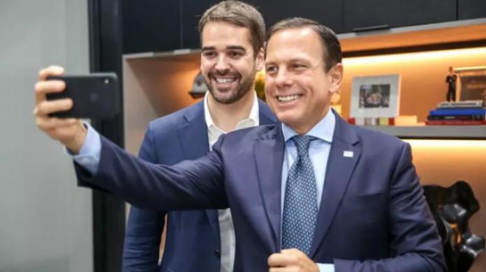Eduardo Leite e João Dória