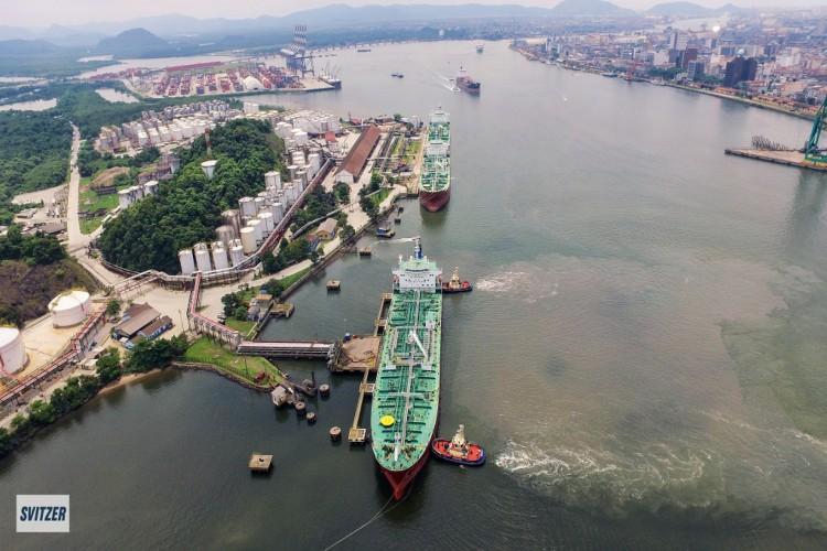 Operação da Svitzer em Santos  (Foto: Arquivo/Divulgação)