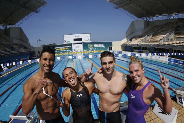 Olimpíadas: Brasil define seus representantes na natação (Foto: )