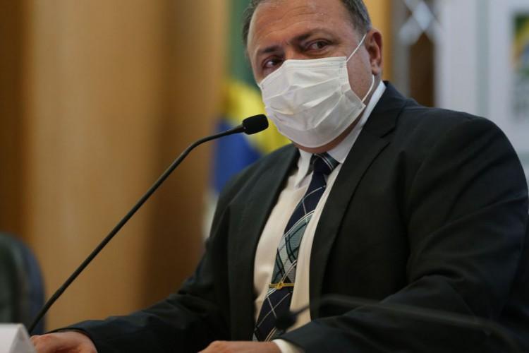 Ex-ministro da Saúde, Eduardo Pazuello (Foto: Fabio Rodrigues Pozzebom/Agência Brasil)