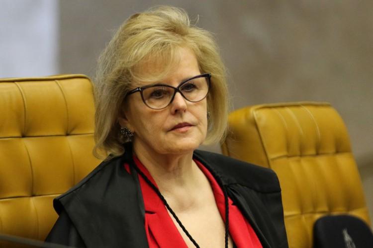 A ministra, Rosa Weber, durante sessão do STF que retoma julgamento sobre o compartilhamento de dados bancários e fiscais. (Foto: Fabio Rodrigues Pozzebom/Agência Brasil)