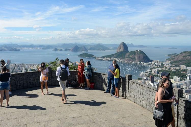 O Mirante Dona Marta é um dos pontos turísticos mais interessantes do Rio (Foto: Tomaz Silva/Agência Brasil)