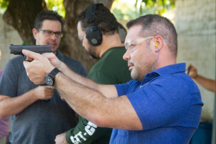Heitor Freire (PSL-CE) é armamentista e tem defendido CACs em várias ocasiões na Câmara dos Deputados (Foto: Divulgação)