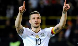 Podolski foi campeão do mundo pela Alemanha em 2014