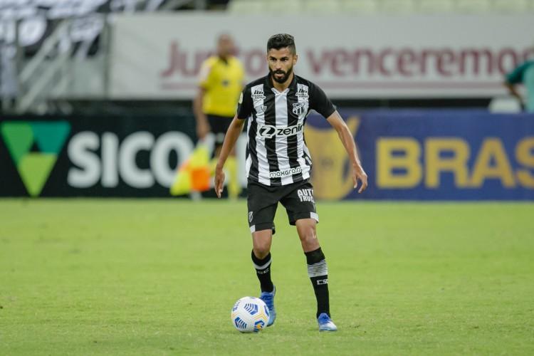 Jorginho soma dois gols na atual edição da Série A pelo Ceará (Foto: Aurelio Alves)