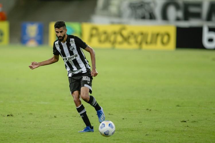 Jorginho lidera quesitos ofensivos no Ceará  (Foto: Aurelio Alves/O POVO)