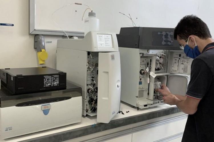 UFMG montou laboratório para avaliar danos da tragédia de Brumadinho (Foto: Divulgação/UFMG)