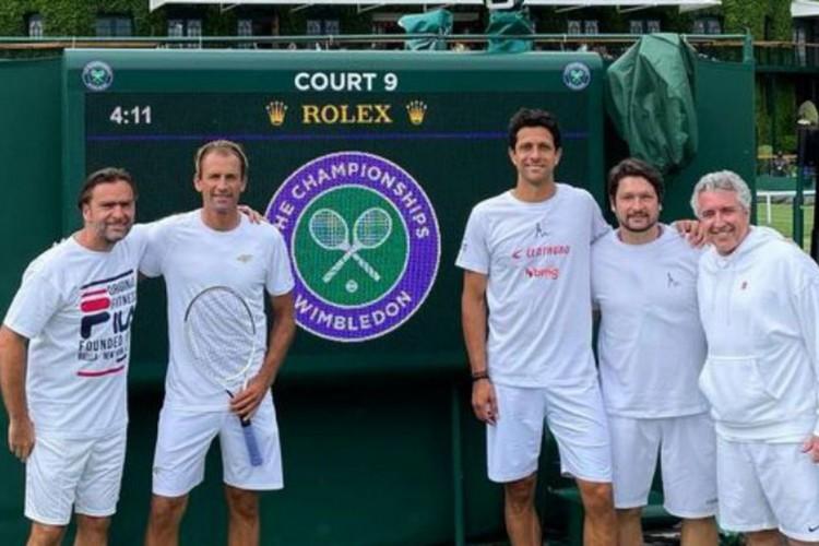 Dupla de Marcelo Melo vence por W.O. e vai às quartas em Wimbledon (Foto: )