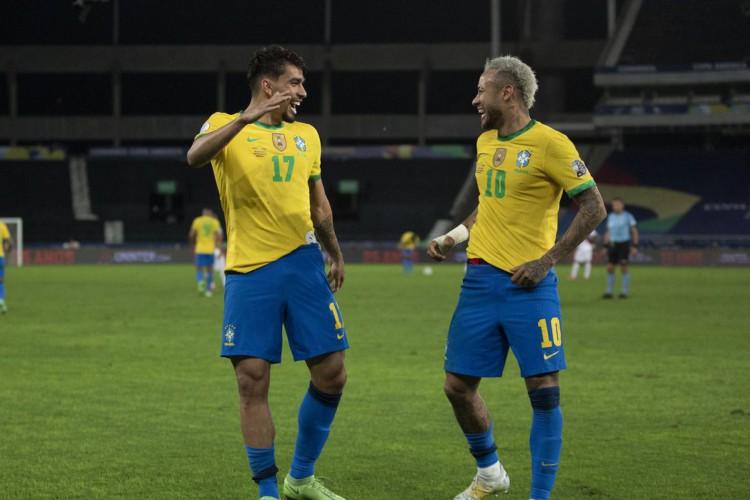 Brasil vence Peru e está na final da Copa América (Foto: )