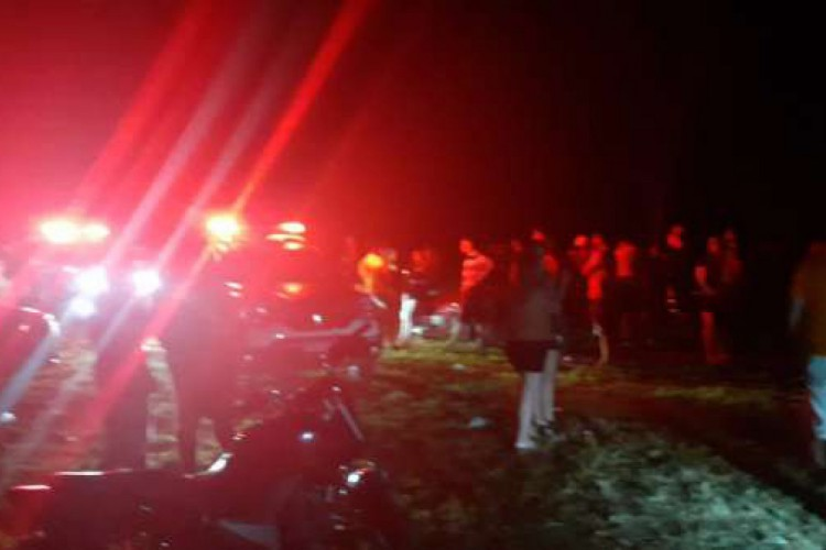 Festa clandestina foi encerrada na madrugada de sábado, 3, em Tianguá (Foto: Foto: Polícia Militar do Ceará)