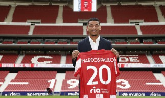 Marcos Paulo, ex-Fluminense, foi anunciado pelo Atlético de Madrid