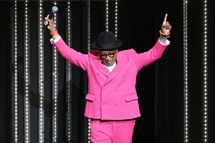 Presidente do júri do 74º Festival de Cannes, Spike Lee celebra a abertura do evento